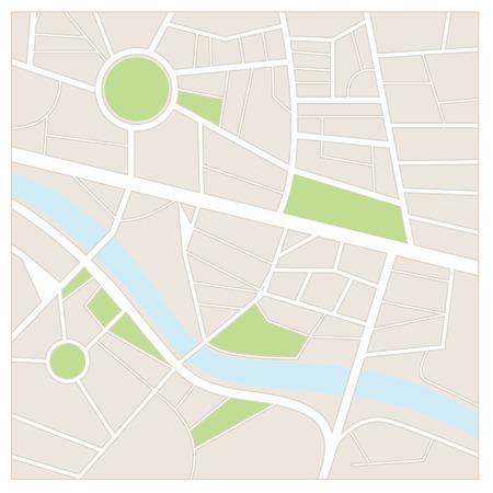 Street map Vettoriali