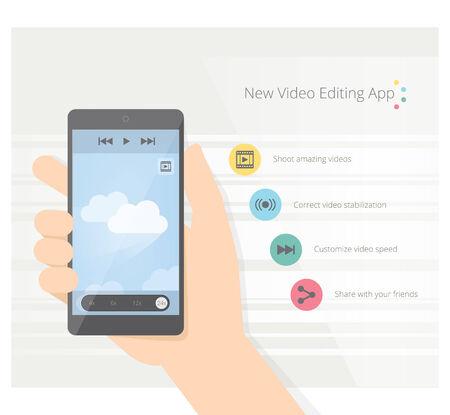 App video Vector