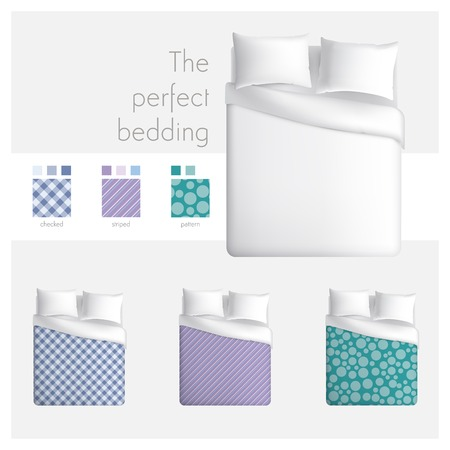 The perfect bedding Vector