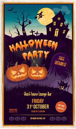 citrouille halloween: F�te d'Halloween Illustration