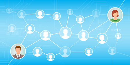 team mate: Meet new people and find new friends online using social networks