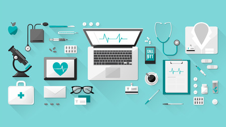 botiquin de primeros auxilios: Médico Vectores
