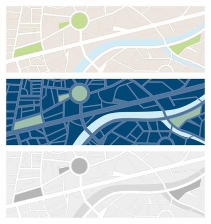 vision nocturna: Bandera mapas Navigator establece con visi�n nocturna y de escala de grises