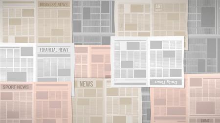 охватывающей: Старый газеты текстура покрытия таблицы или окно