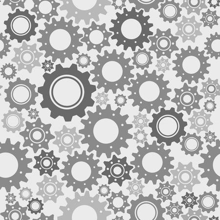 engranes: Engranajes vector patr�n sin fisuras, la ingenier�a y la tecnolog�a concepto