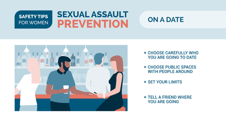Sexual assault prevention and self defense tips for women: how to be safe on a date