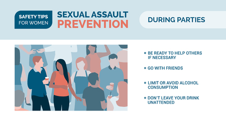 Sexual assault prevention and self defense tips for women: how to be safe during parties
