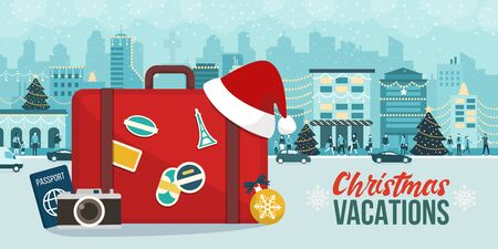 Christmas holiday vacations around the world: explore new cities on winter time