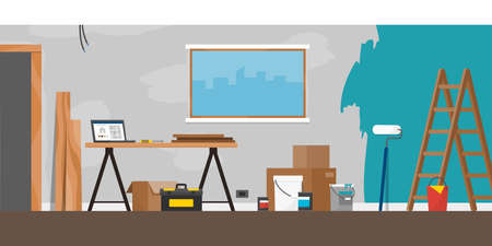 Home renovation and improvement: construction and painting