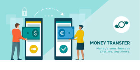 International money transfer and currency exchange
