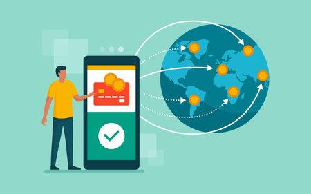 International money transfer and safe transactions