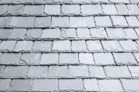 Natural slates roof