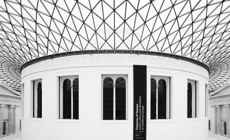 The Great Court in the British Museum in London