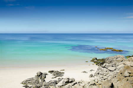 Beautiful and paradise beach at the north Spain Stock Photo - 14584828