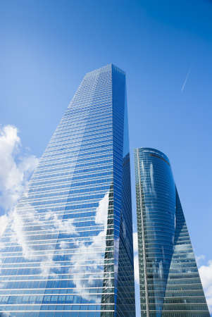 Skyscraper view with blue sky  Stock Photo - 17693761