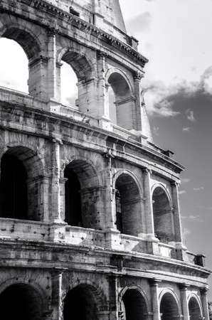 Rome  Great Colosseum Stock Photo