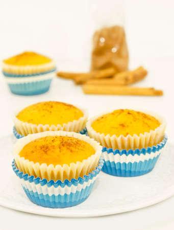 Homemade cinnamon muffins