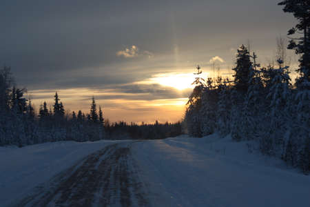 winter road: winter road