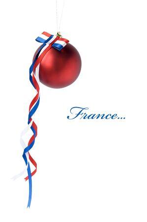 Xmas ball for France