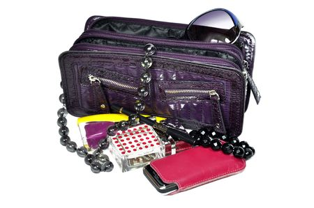 Female handbag Stock Photo