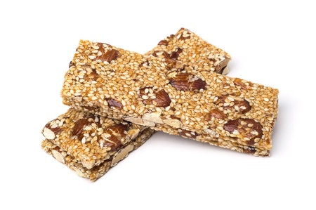 sesame: Cereal snacks isolated