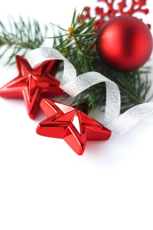 Christmas composition with space for text Stock Photo