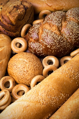 Fresh bakery still life photo