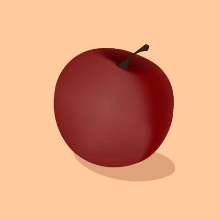 red apple Иллюстрация
