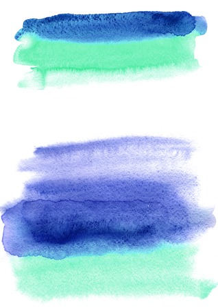 Watercolor background. Multicolor wash brush. Abstract texture