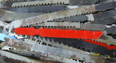 Jigsaw blades, saws for wood, for plastic and for iron