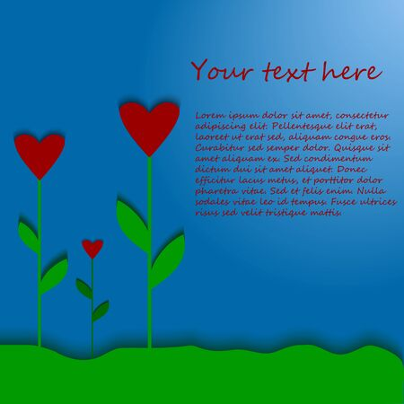 Background with hearts as flowers for birthday and valentines background with hearts as flowers for birthday and valentines cards invitations backgrounds and etc filmwisefo