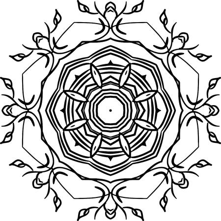 Mandala Template | Vector Background Mandala Template Royalty Free Cliparts Vectors