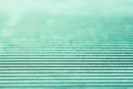 Abstract stylish geometric background. Trendy mint color. Stock Photo