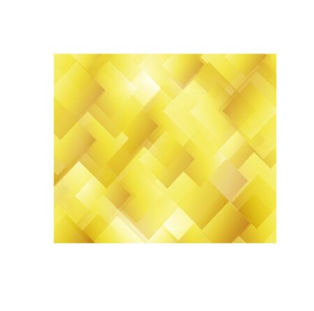 squares background: Abstract glowing background of yellow squares vector