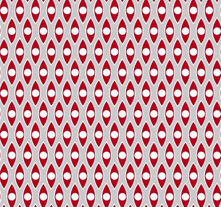 retro seamless pattern: Red gray seamless pattern. Vector texture for different design Illustration