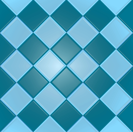 tiles texture: Blue background with texture tiles Illustration