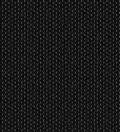 black fabric: Pattern of the dashed white lines on a black texture Stock Photo