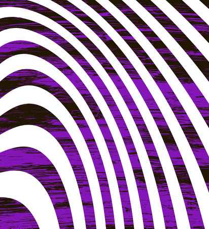 Abstract violet black vector background with white curved stripes