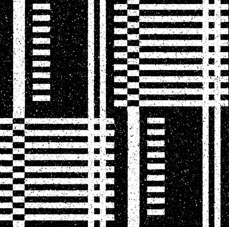 speckled: Black geometric pattern in a fine speckled. Vector seamless