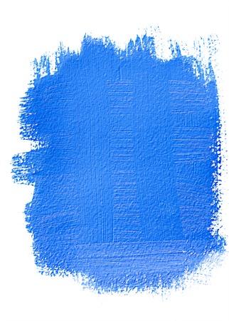 grunge banner: Blue acrylic grunge banner. Bright element for different design