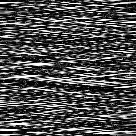 fibrous: Black background of interwoven lines. Fibrous black texture. Illustration