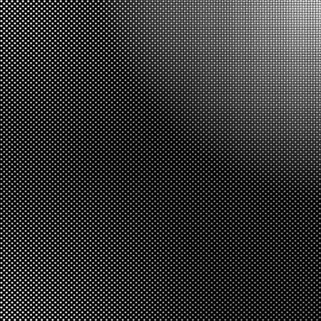 tiny: Black and white background with tiny dots. Halftone vector texture