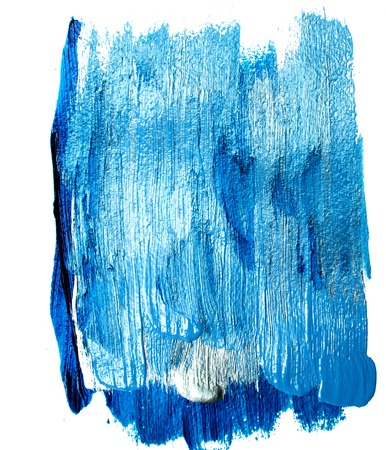 Blue background of vertical paint strokes of different shades Stockfoto