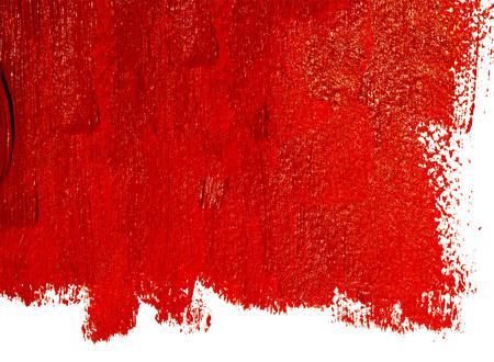 vermilion: Red paint background