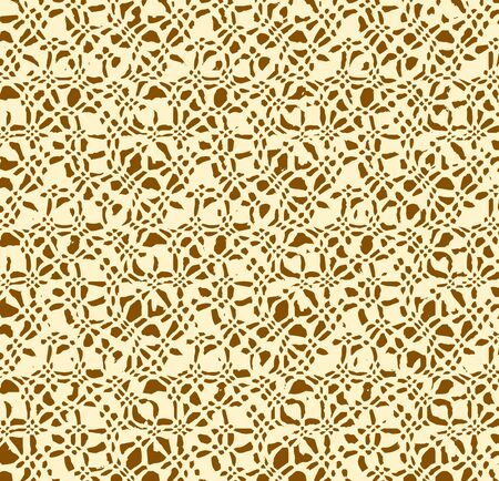 pied: Beige brown abstract background. Vector illustration Stock Photo