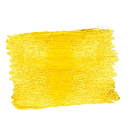 Bright yellow paint background