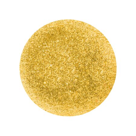 Gold vector circle. Element for different design