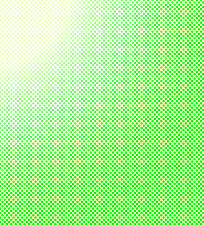 Green yellow halftone background. Vector illustration Illustration