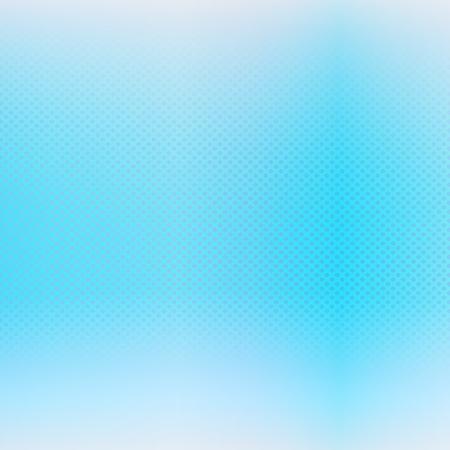 Pale blue halftone background. Vector blurred background Illustration