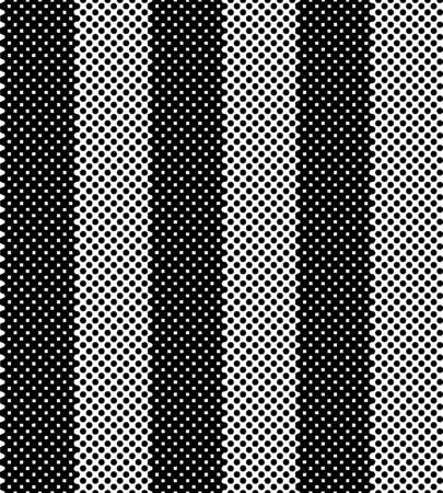 Black tiny mesh striped pattern. Overlaying vertical pattrn. Vector seamless